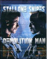 Cover Dvd Demolition Man (Blu-ray)