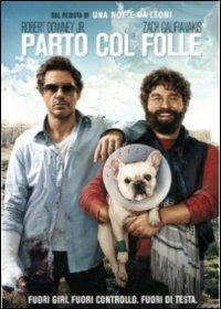 Cover Dvd Parto col folle (DVD)
