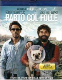 Cover Dvd Parto col folle (Blu-ray)