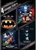 Film 4 grandi film. Batman Collection Joel Schumacher Tim Burton