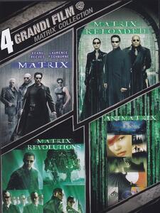 4 grandi film. Matrix Collection (4 DVD) di Peter Chung,Andy Jones,Yoshiaki Kawajiri,Takeshi Koike,Mahiro Maeda,Andy Wachowski,Larry Wachowski