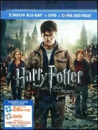 Cover Dvd Harry Potter e i doni della morte. Parte 2 (Blu-ray)