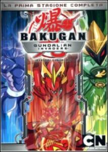 Bakugan. Invasori Gundalian. Stagione 1 (4 DVD) di Mitsuo Hashimoto - DVD