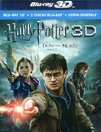 Cover Dvd Harry Potter e i doni della morte. Parte 2. 3D (Blu-ray)