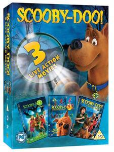 Scooby-Doo. Film live action (3 DVD) di Raja Gosnell,Brian Levant