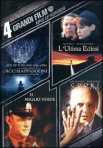 4 grandi film. King of Horror (4 DVD) di Frank Darabont,Taylor Hackford,Scott Hicks,Lawrence Kasdan