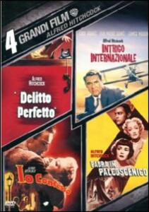 4 grandi film. Alfred Hitchcock (4 DVD) di Alfred Hitchcock