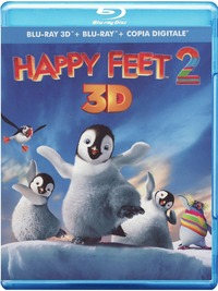 Cover Dvd Happy Feet 2 3D (Blu-ray)
