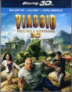 Viaggio nell'isola misteriosa 3D (Blu-ray + Blu-ray 3D) di Brad Peyton