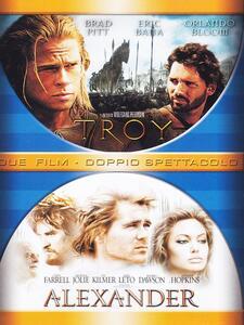 Alexander - Troy (3 DVD) di Wolfgang Petersen,Oliver Stone