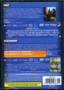 Alexander - Troy (3 DVD) di Wolfgang Petersen,Oliver Stone - 2