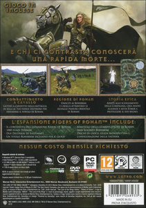 Videogioco Lord of the Rings Online Cavalieri Rohan Personal Computer 5