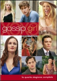 Cover Dvd Gossip Girl. Stagione 4 (DVD)
