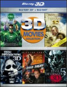 3D Movies Collection di Martin Campbell,David R. Ellis,Louis Leterrier,Patrick Lussier,Steven Quale