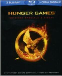 Hunger Games (3 Blu-ray)<span>.</span> Deluxe Edition di Gary Ross - Blu-ray