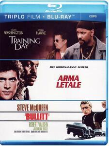 Cops. Training Day. Arma letale. Bullitt (3 Blu-ray) di Richard Donner,Antoine Fuqua,Peter Yates