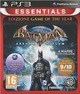 Essentials Batman Arkham Asylum Game of The Year