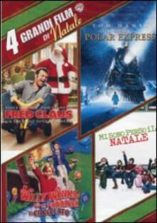 4 grandi film di Natale (4 DVD) di David Dobkin,Paul Feig,Mel Stuart,Robert Zemeckis