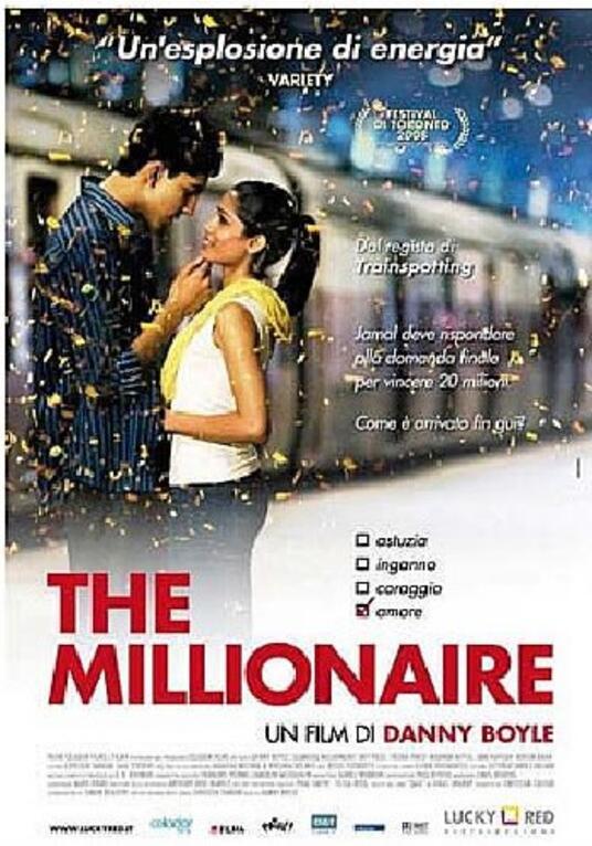 The Millionaire di Danny Boyle - DVD