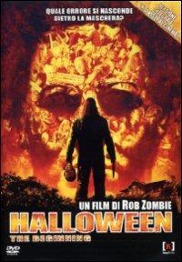 Cover Dvd Halloween. The Beginning (DVD)