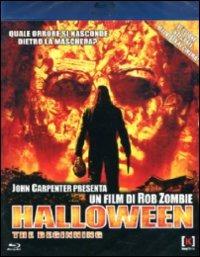 Cover Dvd Halloween. The Beginning (Blu-ray)