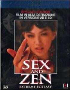 Sex and Zen 3D<span>.</span> versione 3D di Christopher Sun - Blu-ray
