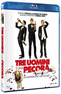Cover Dvd Tre uomini e una pecora (Blu-ray)