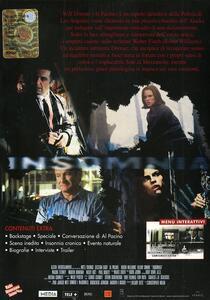 Insomnia (2 DVD)<span>.</span> Edizione speciale di Christopher Nolan - DVD - 2