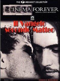 Cover Dvd Vangelo secondo Matteo (DVD)