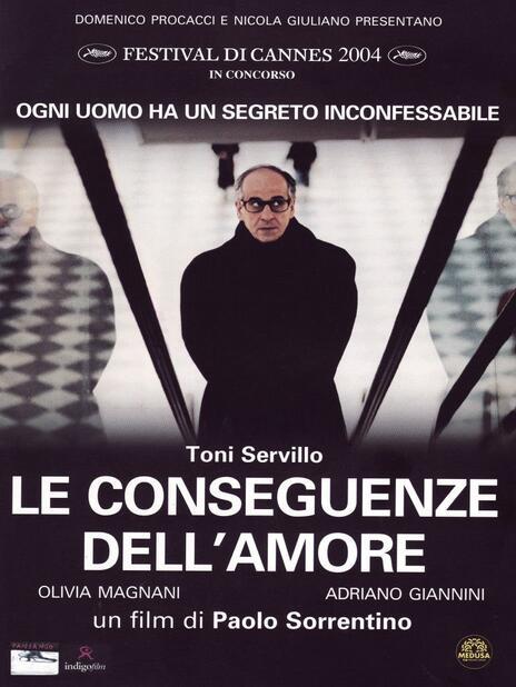 Le conseguenze dell'amore di Paolo Sorrentino - DVD
