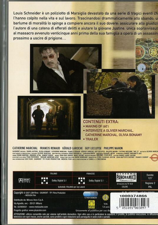 L' ultima missione di Olivier Marchal - DVD - 2