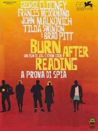 Cover Dvd Burn After Reading. A prova di spia (DVD)