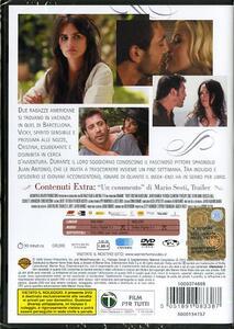 Vicky Cristina Barcelona di Woody Allen - DVD - 2