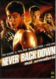 Cover Dvd Never Back Down