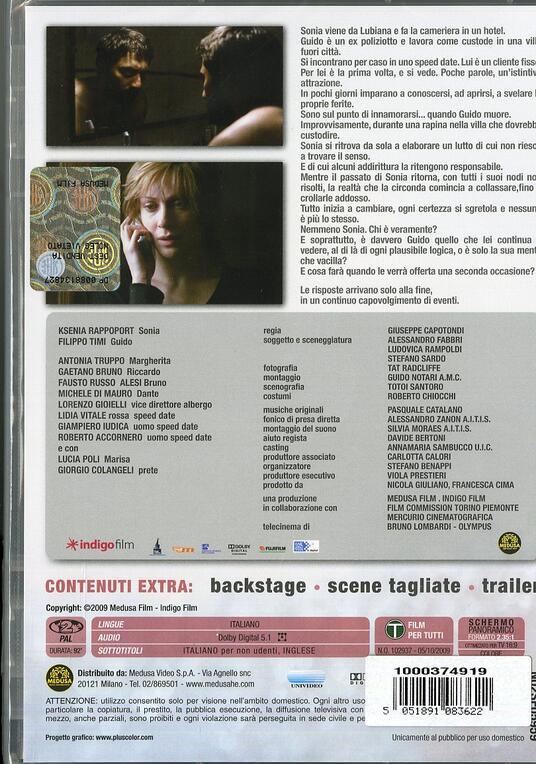 La doppia ora di Giuseppe Capotondi - DVD - 2