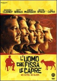 Cover Dvd uomo che fissa le capre (DVD)
