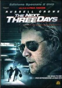 The Next Three Days (2 DVD)<span>.</span> Edizione speciale di Paul Haggis - DVD