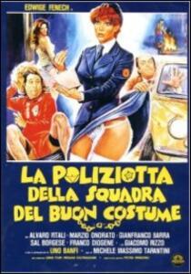 La poliziotta della squadra del buoncostume di Michele Massimo Tarantini - DVD