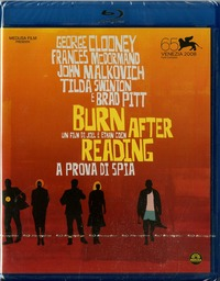 Cover Dvd Burn After Reading. A prova di spia