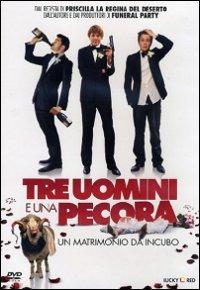 Cover Dvd Tre uomini e una pecora (DVD)