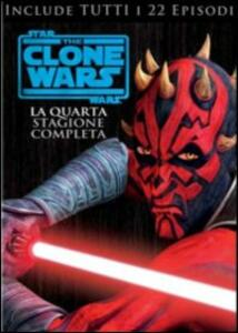 Star Wars. The Clone Wars. Stagione 4 (4 DVD) - DVD