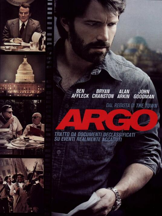 Argo di Ben Affleck - DVD