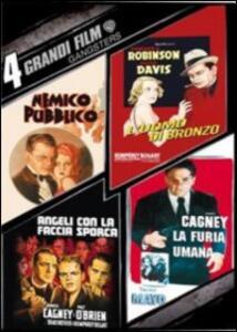4 grandi film. Gangsters (4 DVD) di Michael Curtiz,Raoul Walsh,William Augustus Wellman
