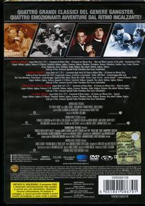 4 grandi film. Gangsters (4 DVD) di Michael Curtiz,Raoul Walsh,William Augustus Wellman - 2