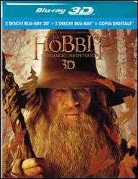 Cover Dvd Lo Hobbit. Un viaggio inaspettato 3D (Blu-ray)