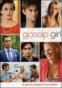Cover Dvd Gossip Girl. Stagione 5 (DVD)