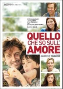 Quello che so sull'amore di Gabriele Muccino - DVD