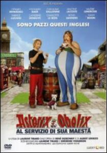 Asterix e Obelix al servizio di sua maestà di Laurent Tirard - DVD