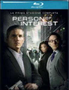 Person of Interest. Stagione 1 (4 Blu-ray) - Blu-ray