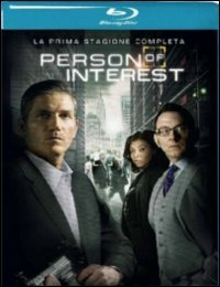 Cover Dvd Person of Interest. Stagione 1 (Blu-ray)
